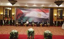 شاهد.. بدء لقاء الفصائل الفلسطينية مع وزير الخارجية المصري في قطاع غزة