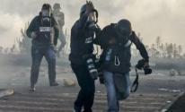الصحفيين الأجانب في غزة