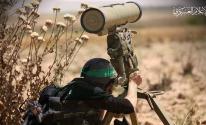 صاروخ كورنيت غزة