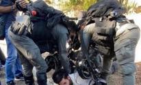 الاحتلال يقمع تظاهرة