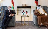 اشتية يلتقي الغانم ويبحث معه حشد الدعم السياسي الدولي لفلسطين.jpg