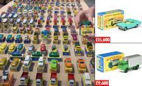 بريطانى يبيع مجموعة سيارات