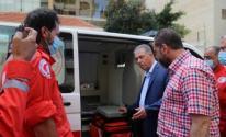 وقفة عز يتبرع بسيارتي إسعاف لمستشفى الهمشري بلبنان 1.jpg