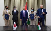 اليابان تُقدم منحة لفلسطين لمواجهة فيروس