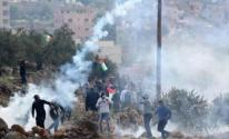 إصابات بالرصاص والاختناق خلال مواجهات في بيتا جنوب نابلس