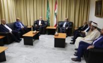 حركة حماس تلتقي قيادة الجماعة الإسلامية في لبنان