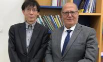 الخضري يلتقي السفير الياباني