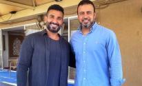 أحمد سعد يرد على انتقادات لصورته مع مصطفى حسنى بعد صلاة الجمعة