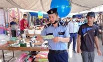 شاهد.. داخلية غزة تنشر صروا من جانب متابعة استئناف عمل سوق السبت