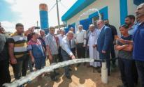افتتاح بئر مياه في منطقة الشغف