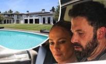 جينيفر لوبيز وبن افليك في قصر بـ65 مليون دولار كخطوة جادة في علاقتهما