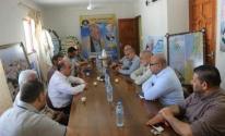 وفد من حماس يزور مكتب الجبهة الشعبية- القيادة العامة بغزة