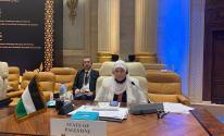 حمد خلال مؤتمر منظمة التعاون الإسلامي الخاص بالمرأة