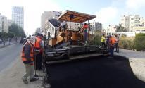 صيانة شارع عمر المختار