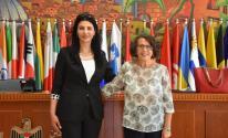 تفاصيل لقاء وكيل وزارة الخارجية بنظيرتها الإيطالية في رام الله