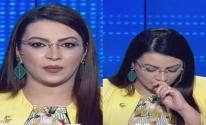 مذيعة تونسية تتعرض لنوبة سعال على الهواء.. والسبب غريب