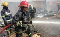 اندلاع حريق وسط بغداد