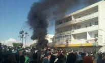 عشرات المحتجين يقتحمون مقرات حركة النهضة في تونس