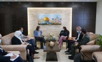 تفاصيل اجتماع الكيلة مه منسقة الأمم المتحدة للشؤون الإنسانية