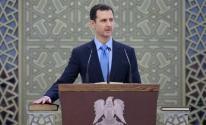 الاسد يؤدي اليمين الدستوري