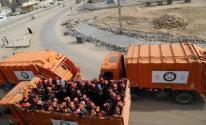 شرطة بيت لحم تضبط 3شاحنات محملة بنفايات