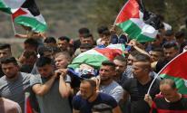 تشييع جثمان الشهيد الفتى محمد التميمي