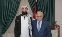 الرئيس عباس.