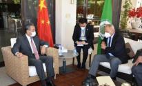 الجامعة العربية والصين.