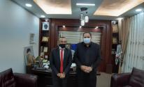 تفاصيل لقاء صبري صيدم مع القنصل الإيطالي العام في القدس