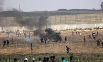 الحاجز الحدودي مع غزة