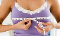 هل زيادة الوزن تؤثر على حجم الثدي ؟