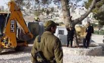 سلطات الاحتلال تُخطر بهدم غرفتين زراعيتين في بيت لحم