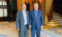 أبو مرزوق والمبعوث الروسي لعملية السلام