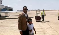 شاهدوا: محمد رمضان يسافر إلى لبنان برفقة ابنه على متن طائرة خاصة