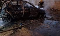 بلدية الخليل تُعلن عن السيطرة على حريق إحدى المركبات