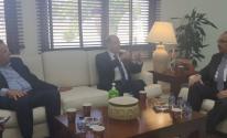 وفد إعلامي فلسطيني يلتقي وزير الإعلام الأردني