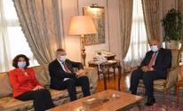 هذا ما جاء في لقاء وزير الخارجية المصري بمفوض