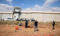 جيش الاحتلال يعزز قوات البحث عن الأسرى الفارين من سجن جلبوع