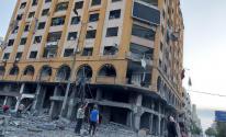 شرطة المرور تعلن إغلاق طرق بغزة للبدء بإزالة برج الجوهرة