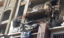 إصابة 13 شخصا بسبب حريق داخل عيادة طبيب في دمنهور بالبحيرة