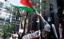 الجالية الفلسطينية في بلجيكا تُنظم وقفة إسناد للأسرى