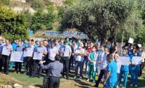 وقفة احتجاجية أمام مستشفى الناصرة الإنجليزي عقب تنصل