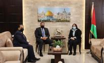 هذا ما جاء في لقاء الكيلة بالسفير المصري لدى فلسطين !