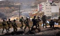 قوات الاحتلال تقمع مسيرة إسناد للأسرى في بيت لحم