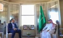 وزير الخارجية القطري والسعودي