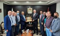 الوزير عساف يستقبل رئيس جامعة خضوري