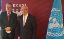 المالكي يبحث مع نظيره المكسيكي آخر جرائم الاحتلال وانتهاكاته