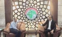 الرباعية الدوليّة تُجري زيارة لمقر جمعية رجال الأعمال الفلسطينيين بغزّة