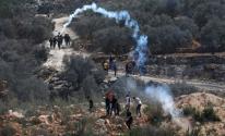 إصابات جراء قمع الاحتلال مسيرتي كفر قدوم وعزون شرق قلقيلية