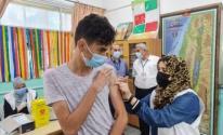 انطلاق حملة تطعيم طلبة المرحلة الثانوية في قطاع غزة